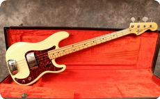 Fender Precision 1973 Olympic White