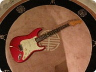 Fender Straocaster 1963 Candy Apple Red