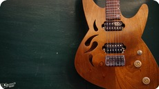 MC Guitars Lullaby 2016 African Walnut Mahogany