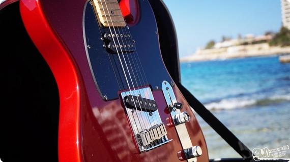 Fender Telecaster Hs 2004 Red