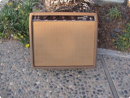 Fender Princeton Amp 1962 Brown Tolex