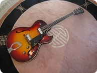 Guild T 100D 1966 Tobacco Sunburst