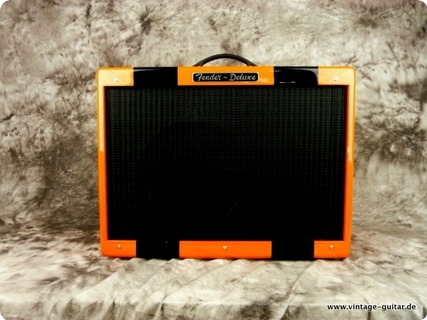 Fender Hot Rod Deluxe Orange Orange Black