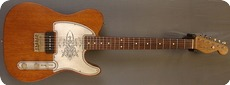 Real Guitars Custom Build Mastergrade Wood Estella No 3 2017 Vintage Mahagony Natural