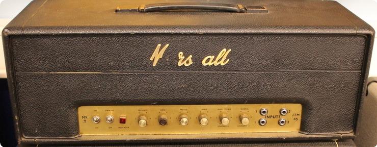 Marshall Jtm45 1966 Amp For Sale Kitarakuu Oy