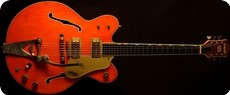 Gretsch 6120 Chet Atkins Nashville 1969 Orange