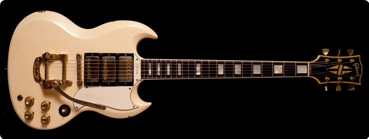 Gibson Sg Custom 1962 White