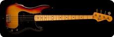 Fender-Precision Bass-1976-3 Color Sunburst