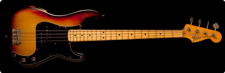 Fender Precision Bass 1976 3 Color Sunburst