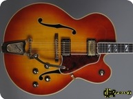 Gibson Super 400 CES 1968 Cherry Sunburst
