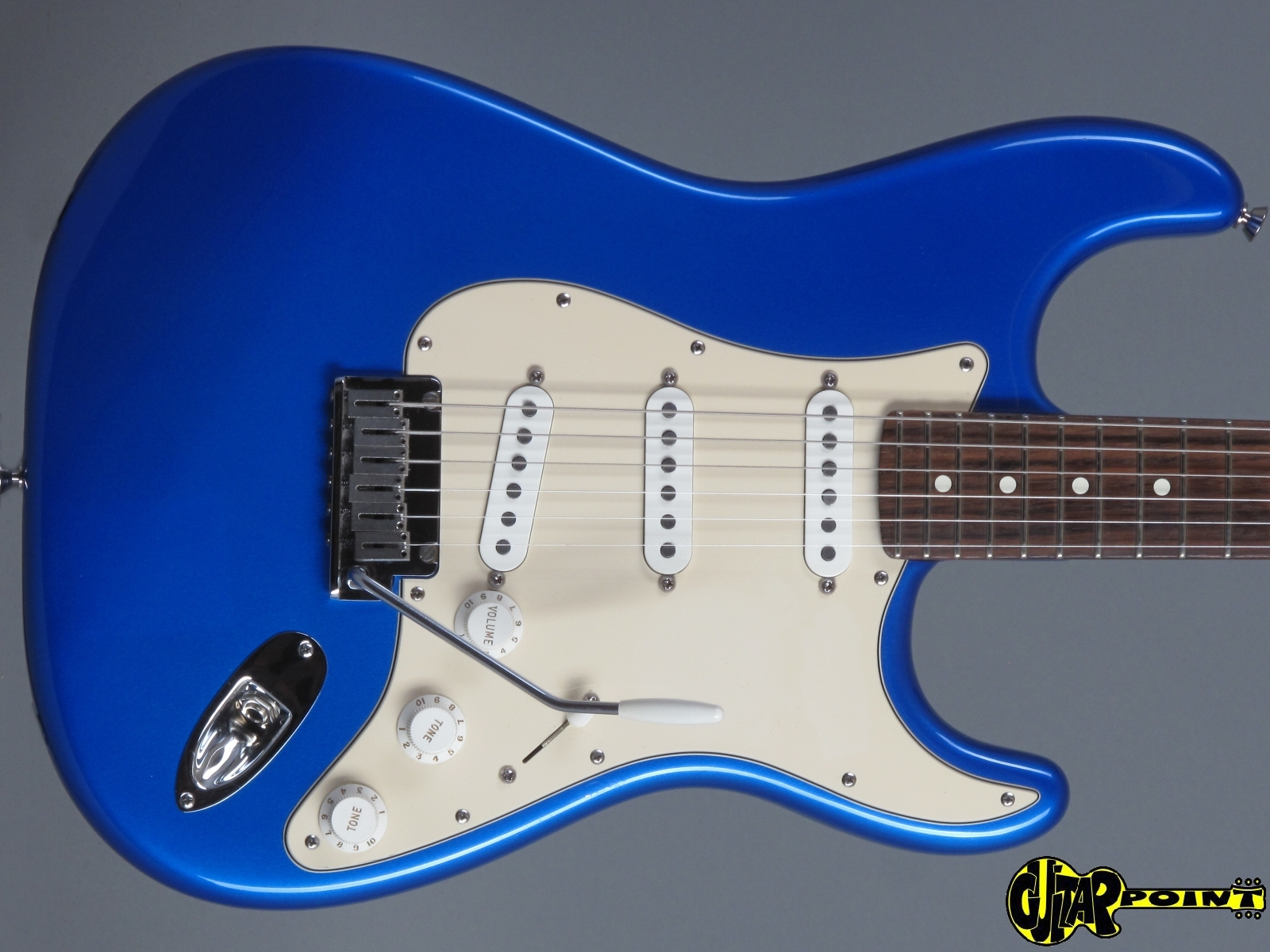 Fender American Standard Stratocaster 2004 Chrome Blue Guitar For ...