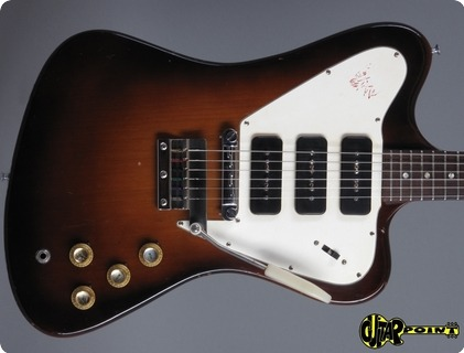 Gibson Firebird Iii / Non Reversed 1965 Sunburst