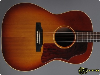 Gibson Lg 1 1967 Cherry Sunburst