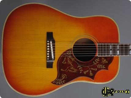 Gibson Hummingbird 1965 Cherry Sunburst