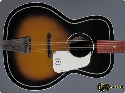Kay N4 Acoustic Guitar 1960 Sunburst