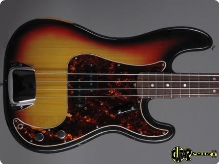Fender Precision 1970 3 Tone Sunburst