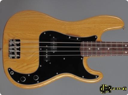 Fender Precision 1978 Natural
