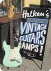 Fender Stratocaster 1961 Surf Green