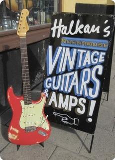 Fender Stratocaster / Original Fiesta Red 1962 Fiesta Red