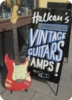Fender Stratocaster Original Fiesta Red 1962 Fiesta Red