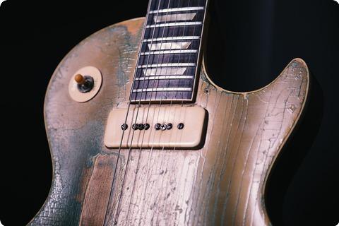 Gibson 1952 1956 Les Paul Standard Conversion 1952 Goldtop
