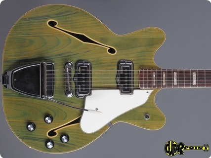Fender Coronado Ii 1967 Wildwood   Green