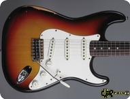 Fender Stratocaster 1974 3 tone Sunburst