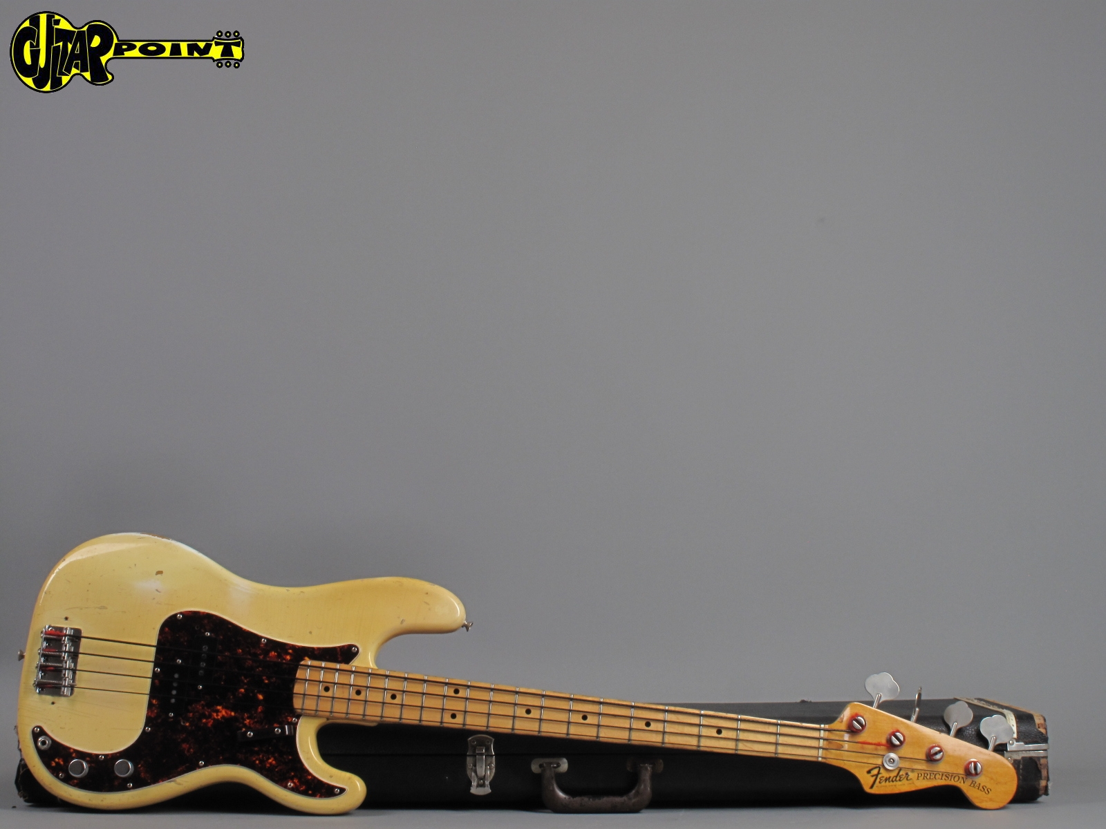 Fender Precision / P Bass 1973 Olympic White Bass For Sale