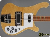 Rickenbacker 4001 1978 Mapleglo Natural