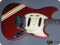 Fender Mustang Competition 1971 Candy Apple Red