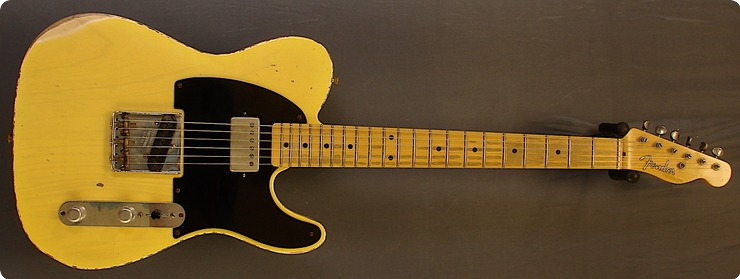 Fender Telecaster ( Relic Custom Shop Keith Model )  2005 Butterscotch