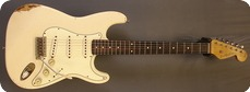 Real Guitars Custom Build Mastergrade Old Stock Wood S 2017 Vintage White