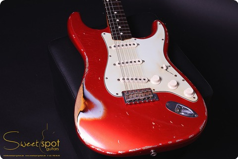 Fender Custom Shop (masterbuilt) Stratocaster Jason Smith Car Over 3tsb 2011 Car Over 3tsb