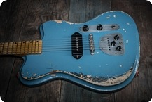 Vuorensaku Guitars T. Junior Supacruiser Gulf Blue
