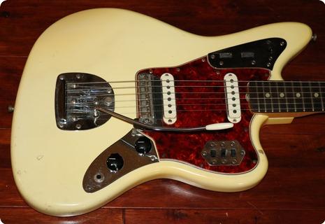 Fender Jaguar (fee0956) 1965 Olympic White
