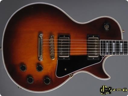 Gibson Les Paul Custom 1981 Sunburst