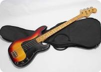 Greco Precision Bass PB 500 1980 Sunburst