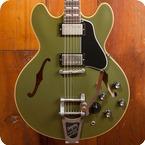 Gibson ES 345 2017 Olive Drab