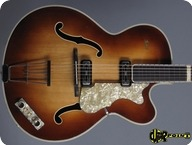 Hfner Hofner Model 457 S E2 1960 Sunburst