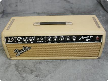 Fender Showman Aa763  1963 Blonde