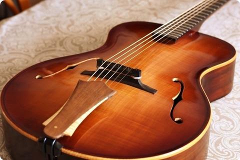 Rancourt Guitars Concerto Modern Signature 15'' Acoustic Archtop  2017 Dark Sienna Burst