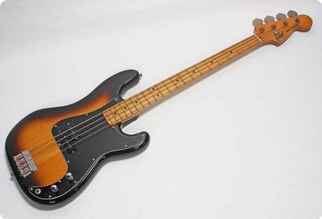 Greco Precision Bass Pb 450 1980 Tobacco Sunburst