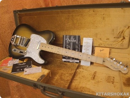 Fender ®  Telecaster Standard Made In Usa With Bigsby 2003 Sunburst