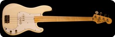 Fender Precision Bass Fretless 1979 Olympic White