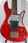 Fodera Custom Emporer 5 2006 Trans Red