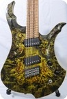 Siggi Braun Custom Shop Fafnyr FF 7 7 2015 Jungle Green Dragon Skin