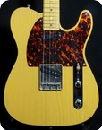 DeTemple Spirit Series 52 Tele 2005 Trans Butterscotch
