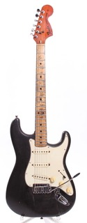 Fender Stratocaster 1972 Black Over Olympic White