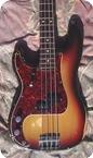 Fender Precision Bass Lefty 1971 Sunburst
