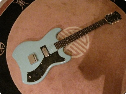 Guild Jet Star S 50 1964 Light Blue (orig Custom Color)